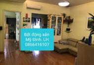 Cho thuê căn hộ tòa FLC Lê Đức Thọ, Mỹ Đình 2, căn hộ 124m2, đã sửa thành 3 PN, giá 9 tr/th