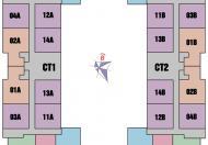 Bán CH 987 Tam Trinh, tòa CT2, 1010, 67m2, 2PN, 1014-55m2-2PN, 18tr/m2, 0984 874 975