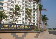 Cần cho thuê gấp căn hộ cao cấp Him Lam Riverside Quận 7, DT: 77m2, 2PN, có nội thất
