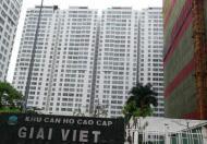 Cần cho thuê gấp căn hộ Giai Việt, DT 150m2, 3 phòng ngủ, nhà trống, nhà rộng thoáng mát