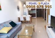 Bán gấp CH cao cấp tại Pearl Plaza 1PN, DT 56m2 giá duy nhất thị trường, LH 0908 078 995