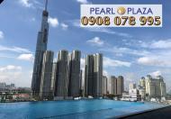 Bán gấp CH 3PN tại Pearl Plaza, DT 123m2, view sông Sài Gòn đẹp nhất dự án, hotline 0908 078 995
