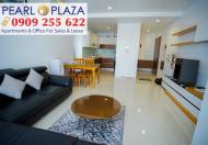 Hàng cực hiếm cần ra ngay CH Pearl Plaza 2PN, view đẹp, giá chỉ 4,65 tỷ có VAT, hotline 0909255622