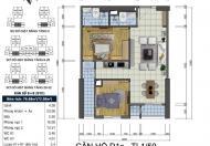 Bán căn hộ 2PN, Goldsilk Complex, Hà Đông