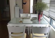 Cho thuê căn hộ chung cư 51 Quan Nhân 83m2, 2PN, đồ cơ bản, giá 9 tr/th