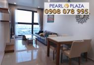 Bán căn hộ Pearl Plaza, Bình Thạnh, 123m2, căn góc, full nội thất, giá chỉ 7,29 tỷ, 0908078995