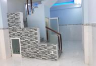 Nhà mới 36m2, 4 x 9m nở hậu 1PK, 2PN, 3.4 tỷ, Phan Văn Trị, Bình Thạnh