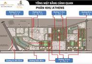 Bán biệt thự song lập khu Nguyễn Xiển, DT 125m2 xây thô 4 tầng có tầng hầm