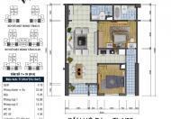 Bán căn hộ GoldSilk Vạn Phúc, DT 77.81m2