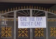 Giá rẻ. Cho thuê nhà nguyên căn khu vực Nguyễn Trãi, phù hợp ở hộ gia đình, làm VP