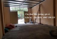 Cho thuê kho xưởng mới đẹp khu Ninh Xá, TP. Bắc Ninh