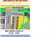 Bán đất thổ cư 100%, SHR, MT đường 641, Nguyễn Oanh , GV, gần cầu An Lộc, DT 51m2, giá 75tr/m2.