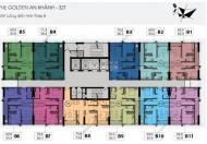 Cần bán gấp căn CC Golden An Khánh, C1506 tòa 32T 65,9m2, giá bán nguyên căn 1 tỷ, LH 0961637026