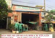 Bán nhà MTKD 250 Mã Lò, Bình Tân, DT 8x30m. Gần bệnh viện, giá 15.9 tỷ. LH 0773796206
