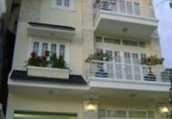 Cho thuê nhà, 1 trệt 3 lầu, mặt tiền đường Lý Hồng Thanh, giá 17 triệu/tháng