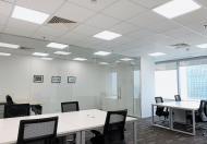Cho thuê văn phòng đại diện hạng A từ 6-10 người 2 view, trung tâm quận Thanh Xuân