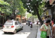 Nhà mặt phố Hàng Gà, DT 50m2 xây 6 tầng, hiện cho thuê 80 tr/th, LH 0963044045