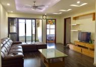 Cho thuê căn hộ chung cư C37 Bộ Công An, full nội thất, rộng 125m2, 3 PN, giá 10tr/th