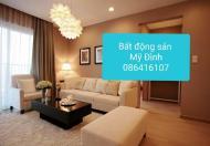 Cho thuê căn hộ tòa B5, Mỹ Đình 1, diện tích 90m2, đủ đồ, giá 9 tr/th. LH 0866416107