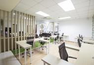 Văn phòng siêu hot chỉ 230.000đ/m2, trần sàn đẹp sẵn, bao điều hòa, Lh ngay: 09115 892 573 gặp Thủy