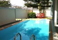 Biệt thự cho thuê Thảo Điền 4PN có hồ bơi đẹp đầy đủ nội thất