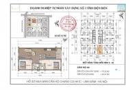 Cắt lỗ căn hộ tầng trung số 08 HH1C Linh Đàm, 70m2, ban công ĐN. LH: 0824666768