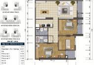 Căn hộ 3 phòng ngủ GoldSilk Vạn Phúc, Hà Đông, SĐCC, giá 2,6 tỷ (BST, có TL)