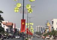 Bán đất mặt tiền Lê Văn Việt, P. Tăng Nhơn Phú A, Quận 9, DT: 7 x 31m, 2 mặt tiền đường