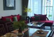 Cho thuê chung cư Thang Long Number One, căn góc 138m2, 4 phòng ngủ, đủ nội thất