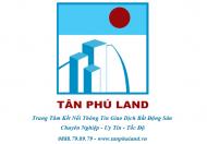 Bán nhà hẻm Chữ Đồng Tử, Tân Bình, DT 10.8m x 19m, đúc 1 lầu. Giá 15 tỷ