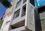 Tòa nhà cần cho thuê nằm trên đoạn đường Nguyễn Văn Linh sầm uất
