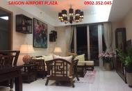 Bán căn hộ Saigon Airport Plaza 3PN-123m2, nội thất đẹp, nhà mới, 5,2 tỉ.LH 0902 352 045
