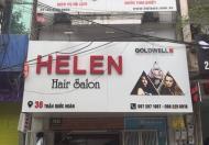 Nhượng cổ phần salon tóc tại 36 Trần Quốc Hoàn, Cầu Giấy, 0982258818