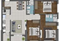 Bán căn hộ Newton 3PN, 102m2, căn góc, đẹp nhất dự án. View nhìn về trung tâm thành phố