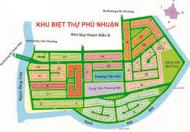 Bán gấp BT sông Phú Nhuận  - lô góc hướng ĐN giá 38tr/m2 -  đường 16m