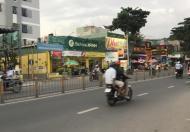Cho thuê nhà căn góc 2MT Lê Đức Thọ, Q.GV,  DT: 10x35m, nhà cấp 4. Giá: 70tr/th