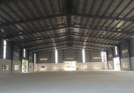 Cho thuê kho, xưởng KCN Hiệp Phước, H.Nhà Bè, DT: 2.500m2. Giá: 110N/m2