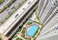Cho thuê căn hộ Masteri Thảo Điền 63.5m2, giá thuê 18.9 triệu/th