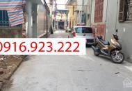 Bán đất sổ đỏ 19/5, Văn Quán, DT: 35m2, MT: 4m, 63tr/m2, ngõ thông taxi tới cửa
