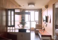 Căn hộ dịch vụ cao cấp tại Phố Trấn Vũ cho thuê thiết kế duplex 2 ngủ full nội thất dt 100m2