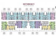 Bán gấp căn hộ tại CC 789 Xuân Đỉnh, căn 15-06, CT1, 69.8m2, cắt lỗ: 1 tỷ 6