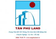 Bán nhà MT Nguyễn Thanh Tuyền, DT 4.5m x 17.8m, đúc 1 lầu. Giá 10 tỷ