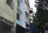 Bán nhà 2 mặt tiền 34/ Trần Minh Quyền, quận 10, 3m x 11m, 4 lầu, thuê 24tr/tháng