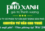 Cho thuê nhà mặt đường Văn Cao, Mt 4.5m, 15 tr/thg.