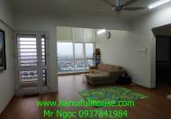 Căn hộ đẹp và giá rẻ tại Hà Nội Garden City, 3 phòng ngủ, view đẹp cho thuê.