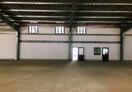 Cho thuê kho xưởng dựng sẵn KCN Đại An, Hải Dương, 1.3ha, 504 triệu/th