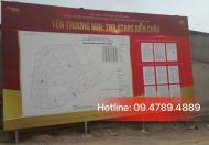 TNR Diễn Châu – khu đô thị thương mại dịch vụ giải trí - Đất dự án rất đáng đầu tư. LH: 09.4789.4889