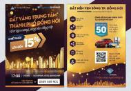 17h Chủ Nhật 21/04 mở bán dự án Diamond Riverside trung tâm Đồng Hới Quảng Bình tại Vinpearl Hotel