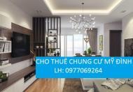 Cho thuê căn hộ chung cư FLC lê đưc thọ, dt 124m2