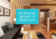 Cho thuê căn hộ chung cư CT5 ĐN3, Trần Hữu Dực, Mỹ Đình 2. DT 93m, giá 8.5 tr. LH 0866416107